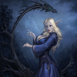 Пазл онлайн: Драконья песнь Евы