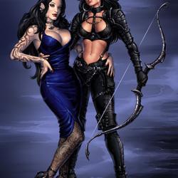 Пазл онлайн: Вашша и Аркания