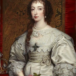 Пазл онлайн: Генриетта Мария Французская