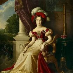 Пазл онлайн: Портрет принцессы