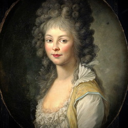 Пазл онлайн: Принцесса Фридерика Мекленбург-Стрелицкая
