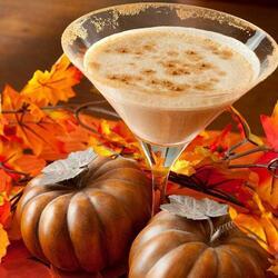 Пазл онлайн: Осенний коктейль