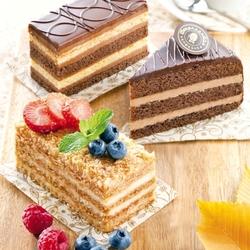 Пазл онлайн: Тортики