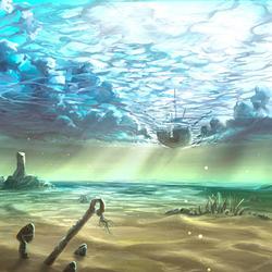 Пазл онлайн: Под водой