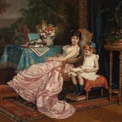 Пазл онлайн: Книга для мамы