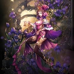 Пазл онлайн: Королева цветов