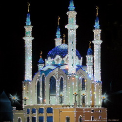 Пазл онлайн: Мечеть Кул-Шариф