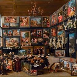 Пазл онлайн: Художественный салон