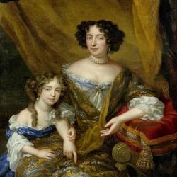 Пазл онлайн: Портрет дворянки с дочерью