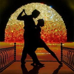 Пазл онлайн: Танго на пирсе