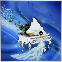 Пазл онлайн: Музыкальное вдохновение