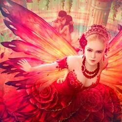 Пазл онлайн: Джулия - фея роз