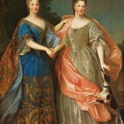 Пазл онлайн: Две дамы