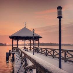 Пазл онлайн: Заснеженный мост