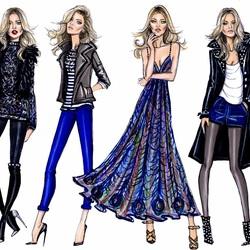 Пазл онлайн: Модный гардероб