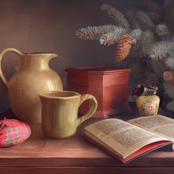 Пазл онлайн: Новогодние каникулы