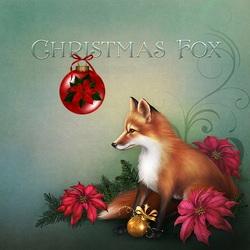 Пазл онлайн: Рождественский лис