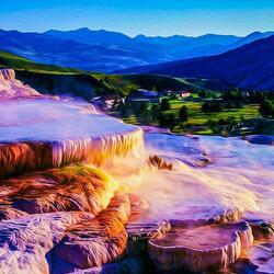 Пазл онлайн: Йеллоустонский национальный парк