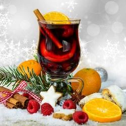 Пазл онлайн: Рождественский чай