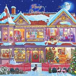 Пазл онлайн: Готовимся к Рождеству