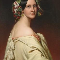 Пазл онлайн: Шарлотта,баронесса фон Овен