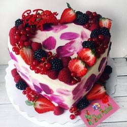 Пазл онлайн: Торт