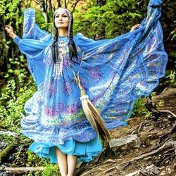 Пазл онлайн: Девушка из Якутии