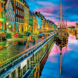 Пазл онлайн: Копенгаген