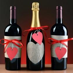 Пазл онлайн: Вино