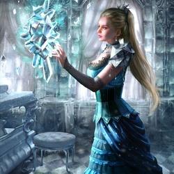 Пазл онлайн: Лайланна, хранительница кристалла