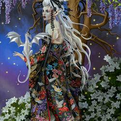 Пазл онлайн: Королева теней