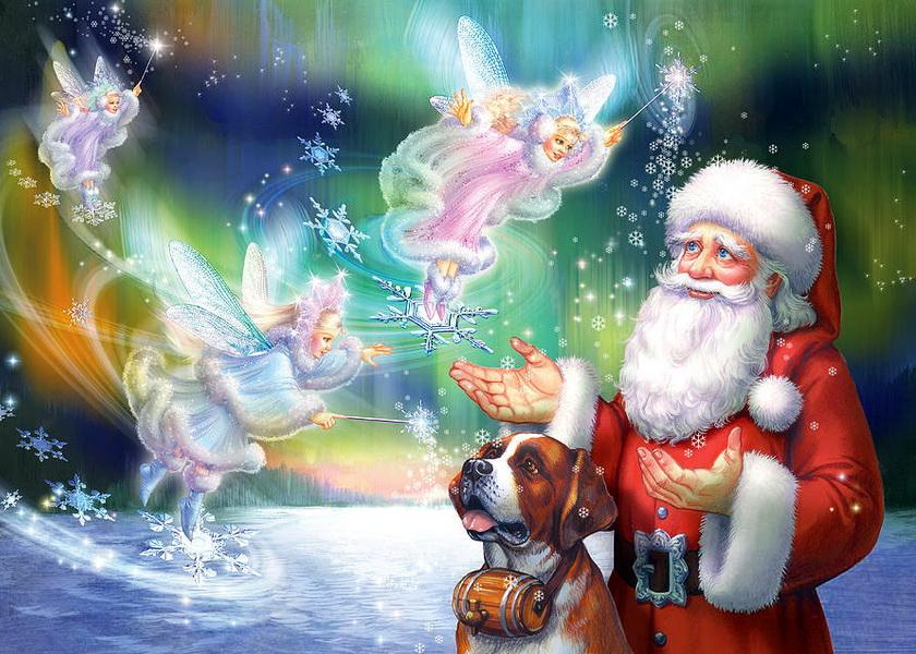 картинки под новый год как в сказке полным-полно чудес пол при