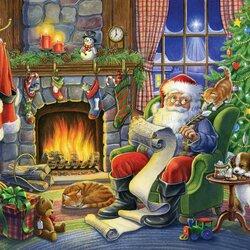 Пазл онлайн: Список подарков