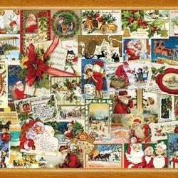 Пазл онлайн: Винтажное Рождество