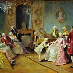 Пазл онлайн: Юный Моцарт