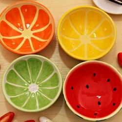 Пазл онлайн: Тарелочки