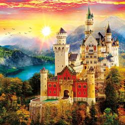 Пазл онлайн: Замок мечты