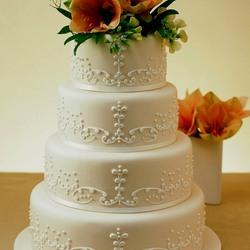 Пазл онлайн: Кремовый торт