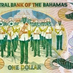 Пазл онлайн: 1 багамский доллар