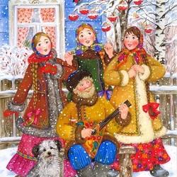 Пазл онлайн: Зимние напевы