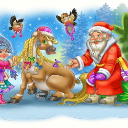 Пазл онлайн: Скоро Новый Год!