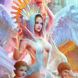 Пазл онлайн: Падшая богиня