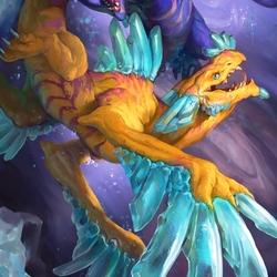 Пазл онлайн: Драконий Зодиак: Рыбы