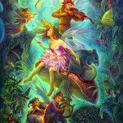 Пазл онлайн: Волшебный оркестр