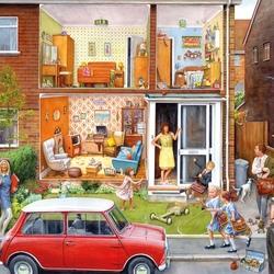 Пазл онлайн: История одного дома