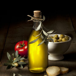Пазл онлайн: Масло первого отжима