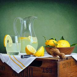 Пазл онлайн: Сицилианский лимонад