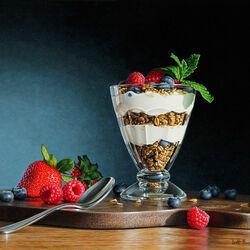 Пазл онлайн: Парфе из йогурта