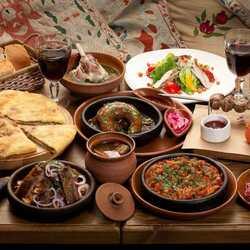Пазл онлайн: Грузинская кухня