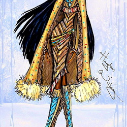 Пазл онлайн: Покахонтас